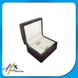 Cadre de empaquetage de montre de cadeau en bois à extrémité élevé de luxe de cadre