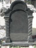 Pierre tombale et monument simples européens de granit