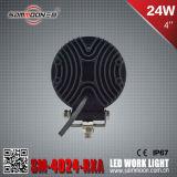 4 runde LED Auto-Arbeits-fahrendes Licht des Zoll-24W mit Cer RoHS ECE Bescheinigungen