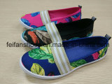 نساء وقت فراغ أحذية مسطّحة, عرضيّ نوع خيش حقنة أحذية [سبورتينغ] أحذية