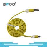 Fabrik-Preis-bunter Blitz Mikro-USB-Daten-Kabel