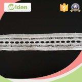 Cordón químico floral geométrico del guipur de la muestra libre de la tela disponible del cordón
