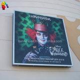 Bandera publicitaria lateral de la flexión del vinilo del PVC de Frontilit del camino al aire libre de la calle