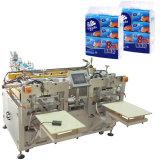 Tissu facial de machine de papier de soie de soie de Softpack enveloppant la machine à emballer
