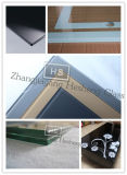Hole를 가진 5mm Square Clear Nashiji Glas Tempered Glass Toughened Glass