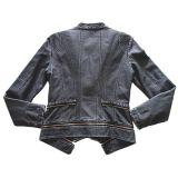 Buena chaqueta de la PU de las señoras del servicio de atención al cliente del más nuevo estilo