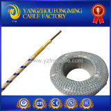 fil isolé par fibre de verre de 300V ou de 500V 400deg c