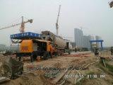 Bomba concreta do reboque Diesel da máquina 30-90 M3/H da construção