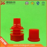 Capsule en plastique colorée en gros ronde