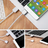 Nieuwe Design Znaps USB aan Magnetic Cable met Adapter voor Mobile Devices