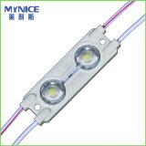 2835 освещенных контржурным светом 0.36W модулей впрыски СИД с объективом для пем светлой коробки и канала