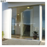 6.38-12.38mm Anti--Theft/Safety/Ultra Clear/Tempered Laminated Glass Door
