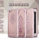 Dimond Flower TPU Cover Phone Caso para iPhone6 6s