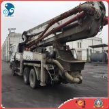 de 37m Gebruikte Concrete Vrachtwagen van de Pomp van het Cement Sany (6*4 de chassis van Isuzu)