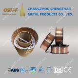 Er70s-6 MIG Mag-Schweißens-Draht mit 250kg Durm Verpackung