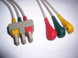 Cable del tronco ECG de Philips M1500A Snap&Clip 3