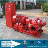Bomba de água diesel de transferência elétrica grande de 8 polegadas