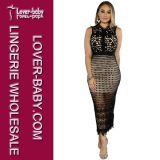 Dame Fashion Wear Sexy Dress (l51304-1)
