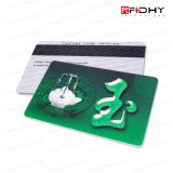 Scheda personalizzata di identificazione di lealtà RFID di stampa 125kHz/13.56MHz del Silk-Screen
