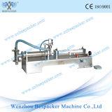 Machine de remplissage de bouteilles Semi-Automatique pneumatique de lait d'acier inoxydable