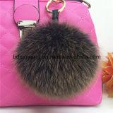 卸し売り高品質のキツネの毛皮のポンポン