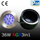 12W RGB LEDの水中プールライト(JP948123)