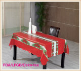 Tablecloth impresso PVC com estilo do Natal (TJ0760)