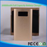 Li-Polymer-Plastik 20000mAh Energien-Bank für Telefon-Tablette PC