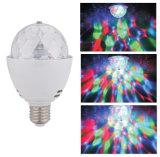 Luz de bulbo quente do disco do diodo emissor de luz RGB dos produtos 3W E27