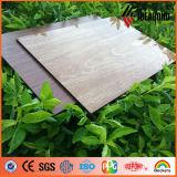 Panneau composé en aluminium &#160 de fini du bois enduit par PE non brisé chaud de faisceau de prix usine de vente ; Ae-308