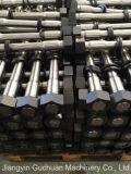 Peças sobresselentes hidráulicas do disjuntor, formão hidráulico do disjuntor, através dos parafusos e do Bush
