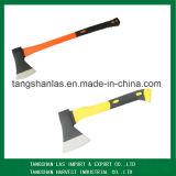 Ascia dell'utensile manuale di taglio dell'ascia con la maniglia del rivestimento di plastica