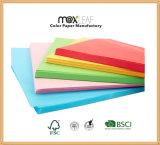 Papier enduit coloré de papier d'imprimerie de papier de module de Woodfree