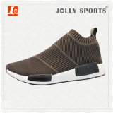 Zapatos corrientes del ocio respirable del Knit de la zapatilla de deporte para los hombres de las mujeres