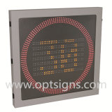 Optraffic LED 소통량 레이다 속도 표시에 의하여 배치되는 제한 속도 표시
