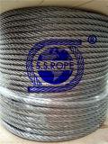 Balaustrada do cabo da corda de fio 1*19-3.2mm do aço inoxidável