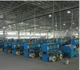 수평한 Single Twisting Machine 또는 Stranding Machine