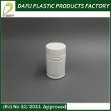 bottiglia di plastica bianca della medicina del PE di figura rotonda 50ml