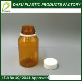 O animal de estimação 150ml cancela o frasco plástico