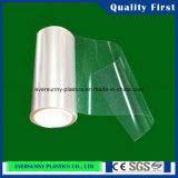 Folha transparente flexível rígida do PVC