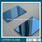 Vidro reflexivo azul cinzento para o bloco de apartamentos Windows
