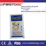 Febbre degli adulti e del bambino del fornitore che si riduce raffreddando zona per febbre
