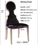 販売のための黒いファブリック簡単で安い食事の椅子