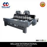 Машина Woodworking CNC маршрутизатора CNC 4 осей роторная деревянная (VCT-3230FR-10H)