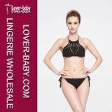 De Bikini Swimwear van meisjes haakt het Kostuum van het Strand (l32579-2)