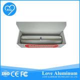 Rigidez elevada menos rebobinamento do rolo da folha de alumínio da estrutura da deformação e máquina de estaca bem-desenvolvidas