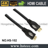 Câble à grande vitesse de HDMI pour l'ordinateur avec l'Ethernet