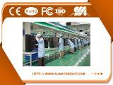 Exhibición de LED de fundición a presión a troquel de interior del aluminio SMD P1.66 de la calidad