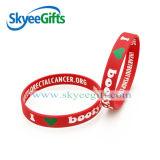 Braccialetto promozionale personalizzato del silicone del Wristband del silicone