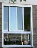 Heißer gitter-Fenster-Entwurfs-schiebendes Aluminiumfenster des Verkaufs-2014 Glas